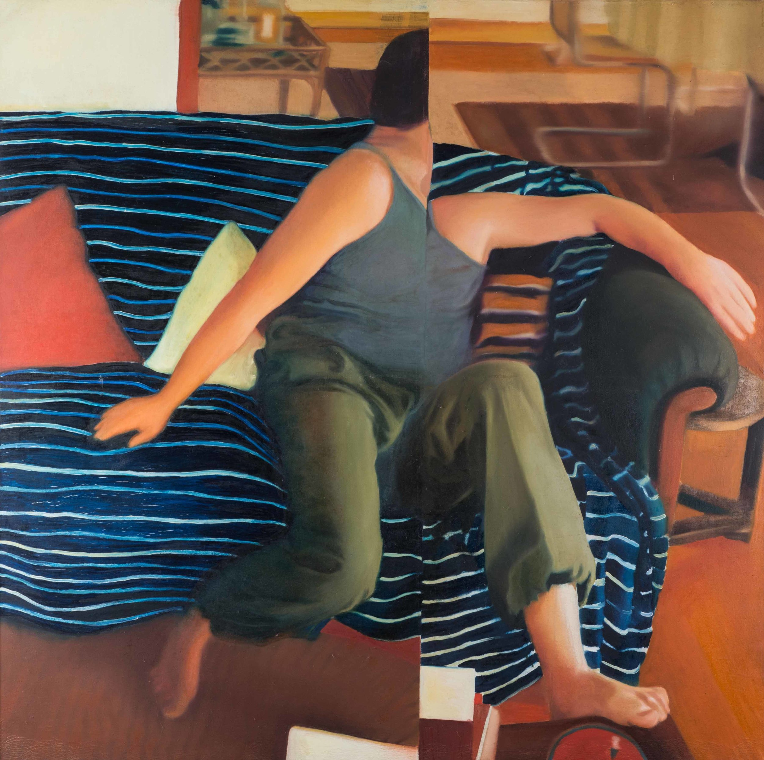 Half brother , 2001, oil on canvas, 110 x 140cm. Private collection, Brazil