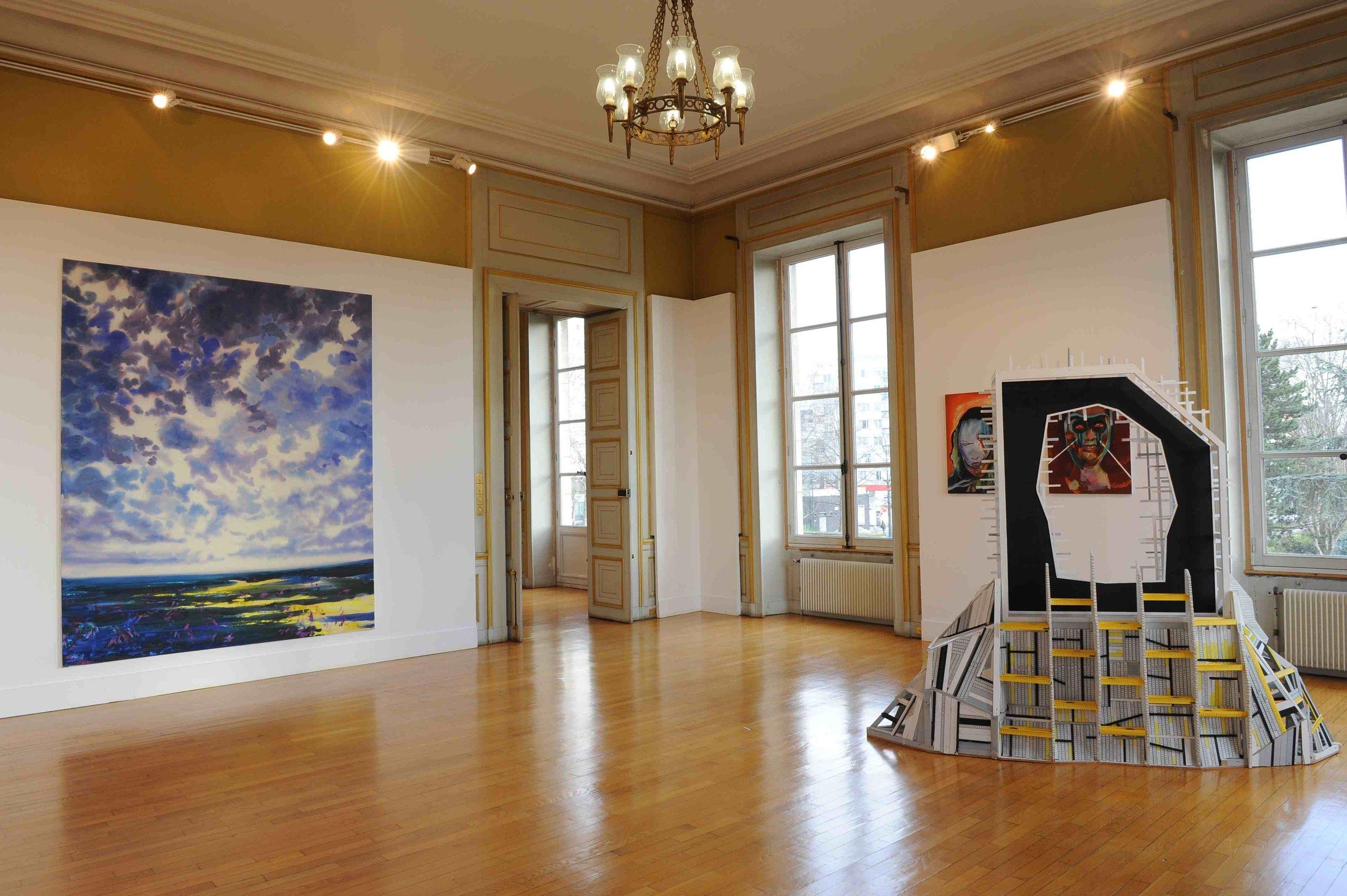 Des paysages, des Figures, Château de St Ouen, 2011.Curator Olivier Masmonteil.Artists in view :Olivier Masmonteil, Clement Bagot, Axel Pahlavi