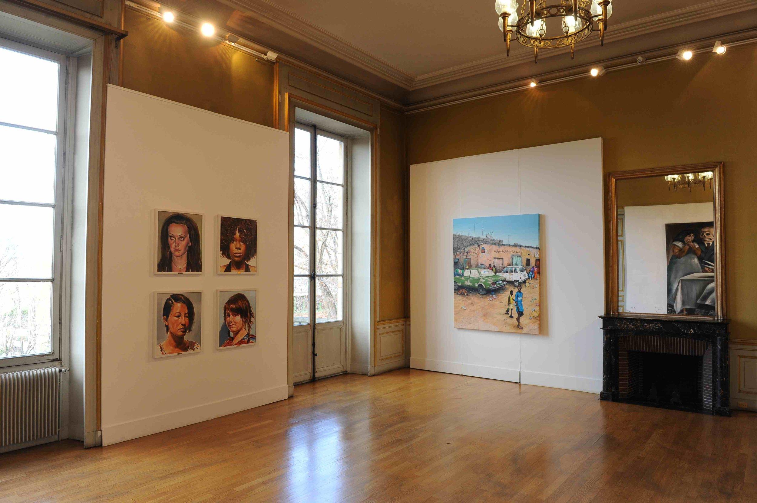 Des paysages, des Figures, Château de St Ouen, 2011.Curator Olivier Masmonteil.Artists in view : Axel Pahlavi, Julien Benetton, Gregory Forstner