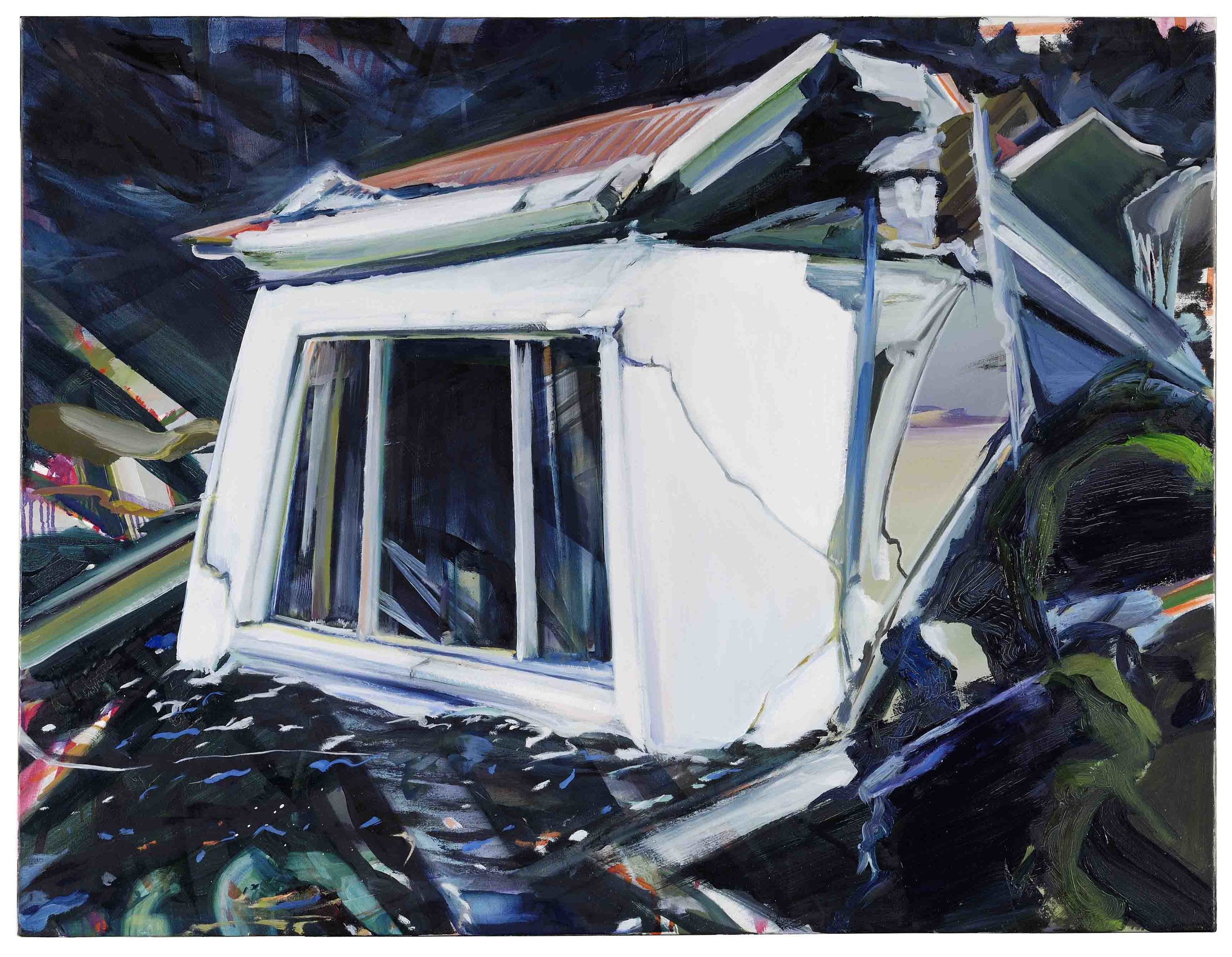 White House , 2006, oil on canvas, 86 x 114 cm. Private collection, France