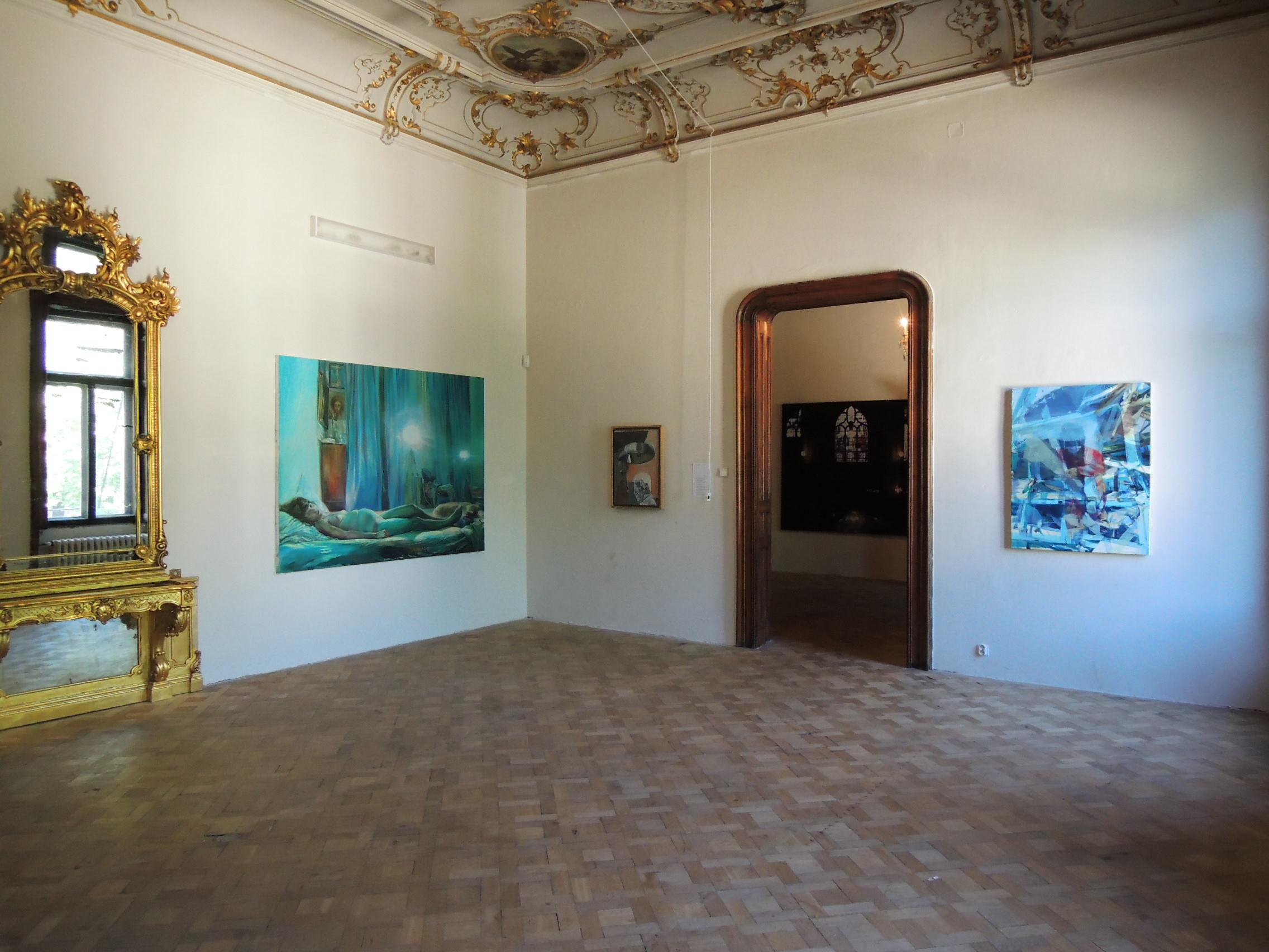 La Belle Peinture 2 , Bratislava (SK), Pisztory Palace.Curators : Eva Hober and Ivan Jançar.Artists in view: Axel Pahlavi, Duncan Wylie