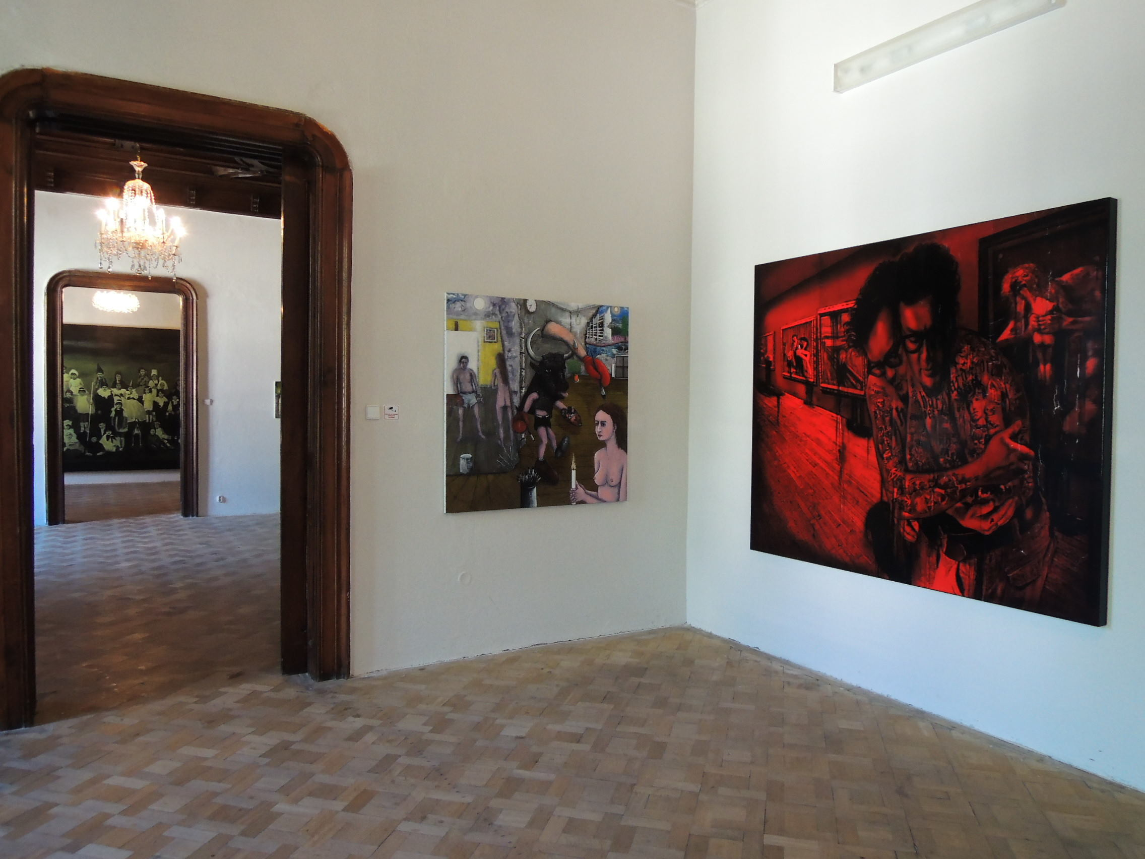 La Belle Peinture 2 , Bratislava (SK), Pisztory Palace.Curators : Eva Hober and Ivan Jançar.Artists in view: Claire Tabouret, Eric Corne