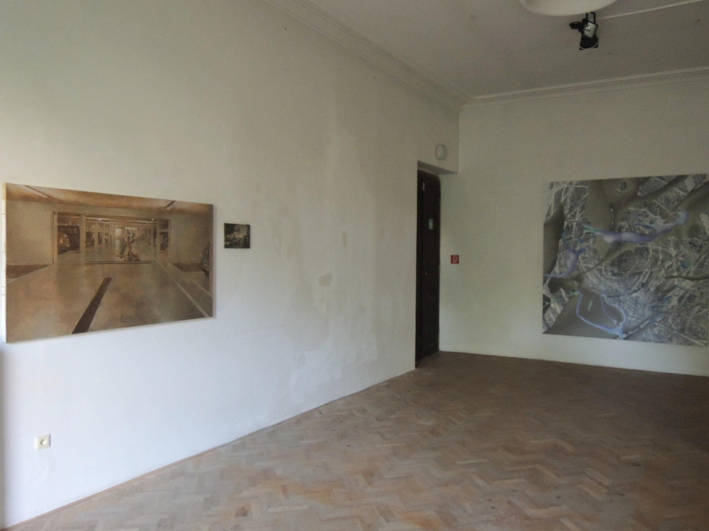 La Belle Peinture 2 , Bratislava (SK), Pisztory Palace.Curators : Eva Hober and Ivan Jançar. Guillaume Bresson,