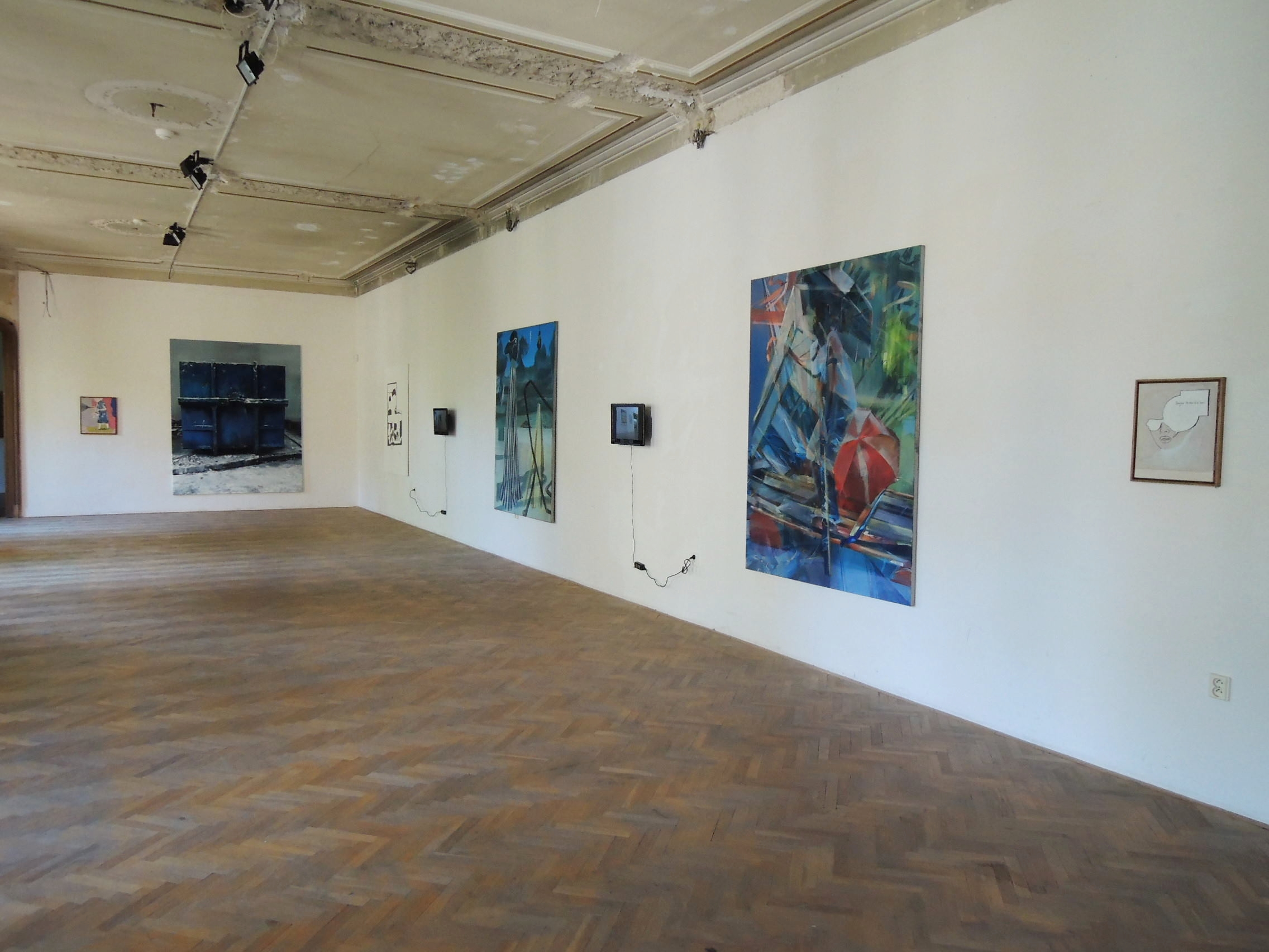 La Belle Peinture 2 , Bratislava (SK), Pisztory Palace.Curators : Eva Hober and Ivan Jançar.Artists in view: J.M Alberola, Youssef Kourichi, Ivan Argote, Marc Desgrandchamps, Duncan Wylie, J.M Alberola