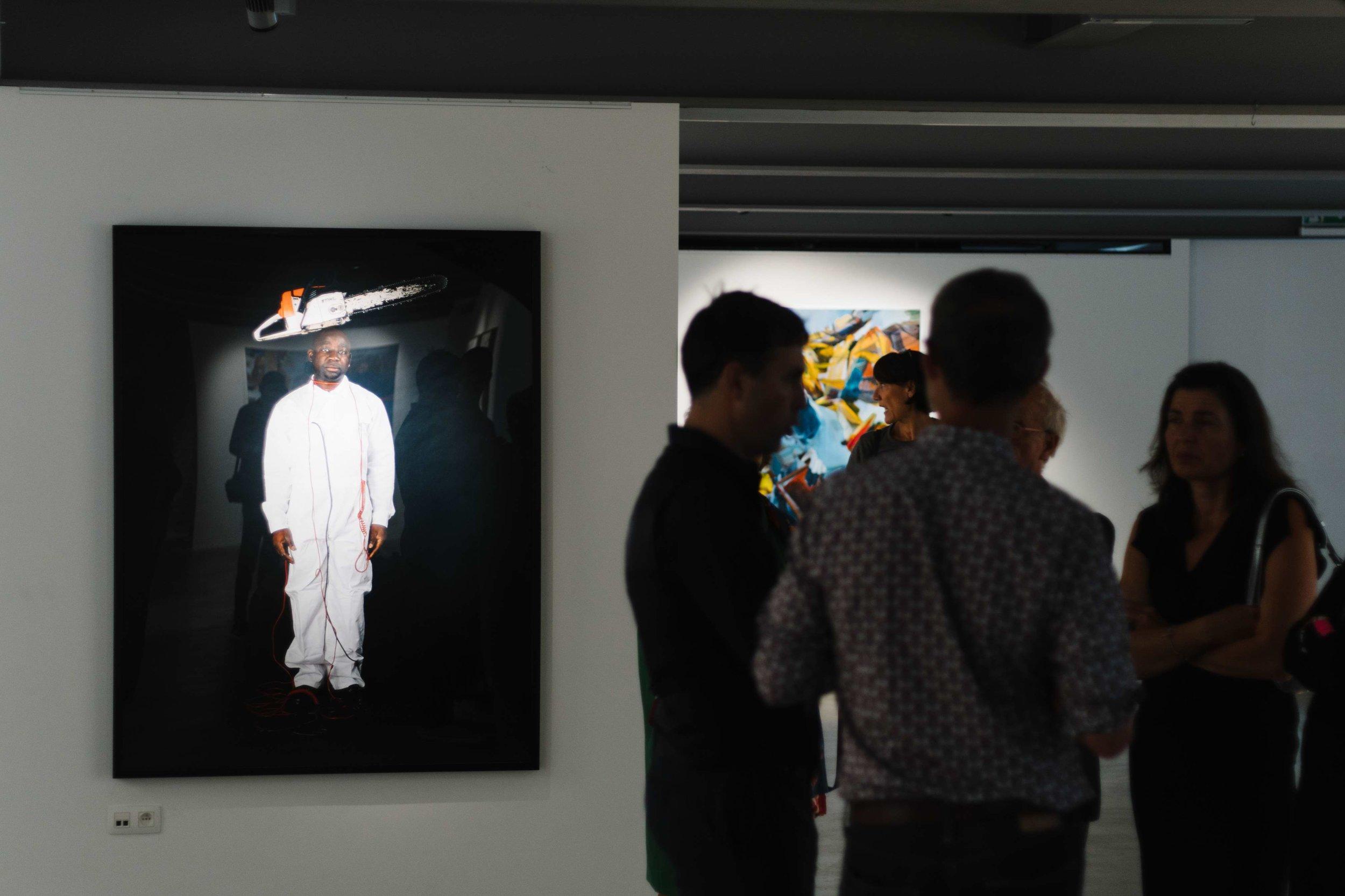 About the World , Barthélémy Toguo - Duncan Wylie, Hangar Arts Centre, Brussels, Sept/Oct 2018, curator Philip Piguet