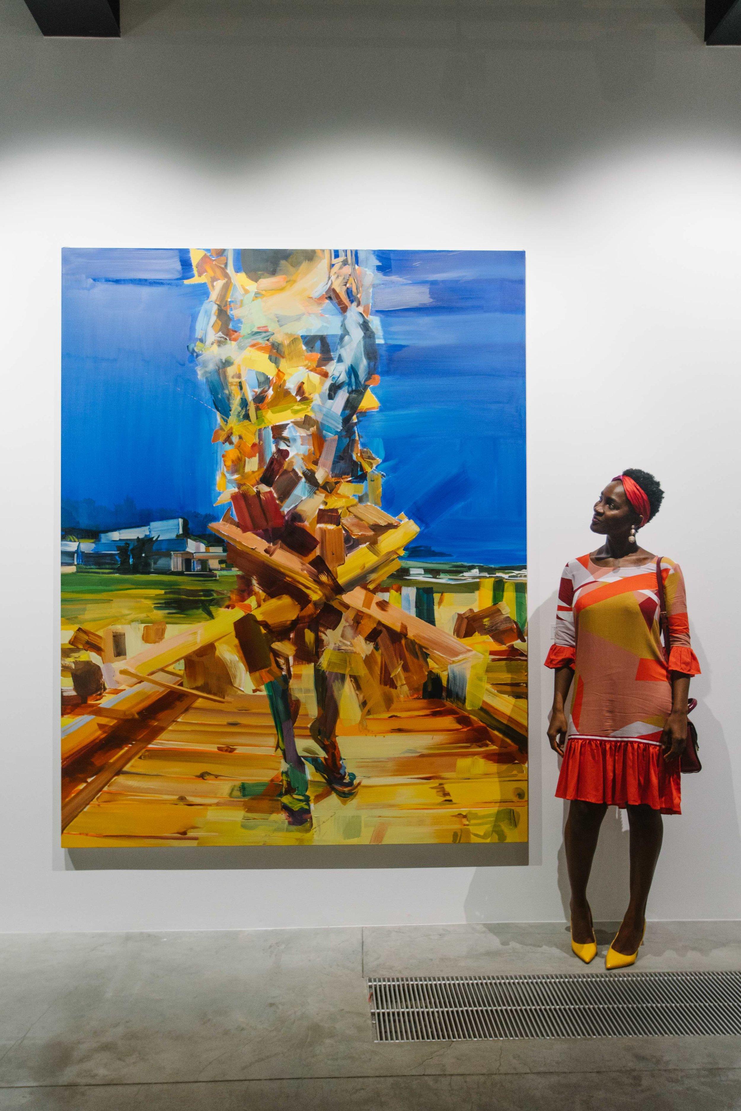 AAbout the World , Barthélémy Toguo - Duncan Wylie, Hangar Arts Centre, Brussels, Sept/Oct 2018, curator Philip Piguet