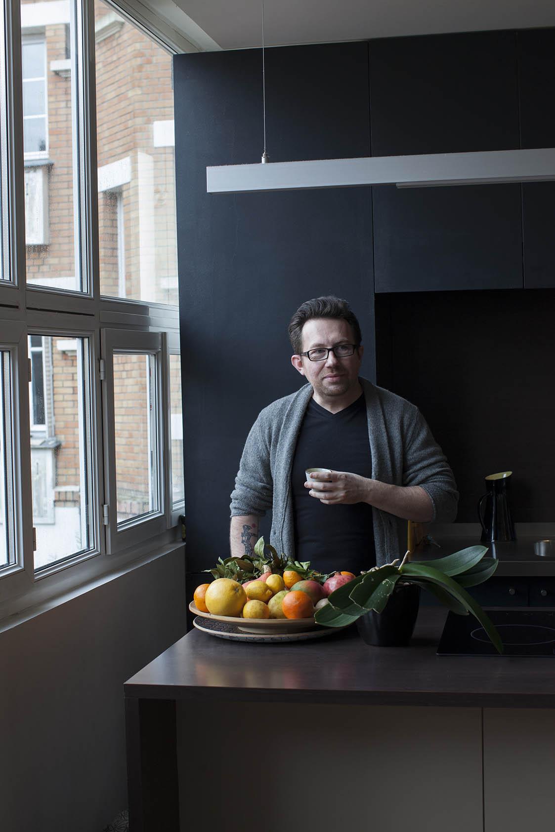 Chef Luc Dubanchet for Afisha Eda