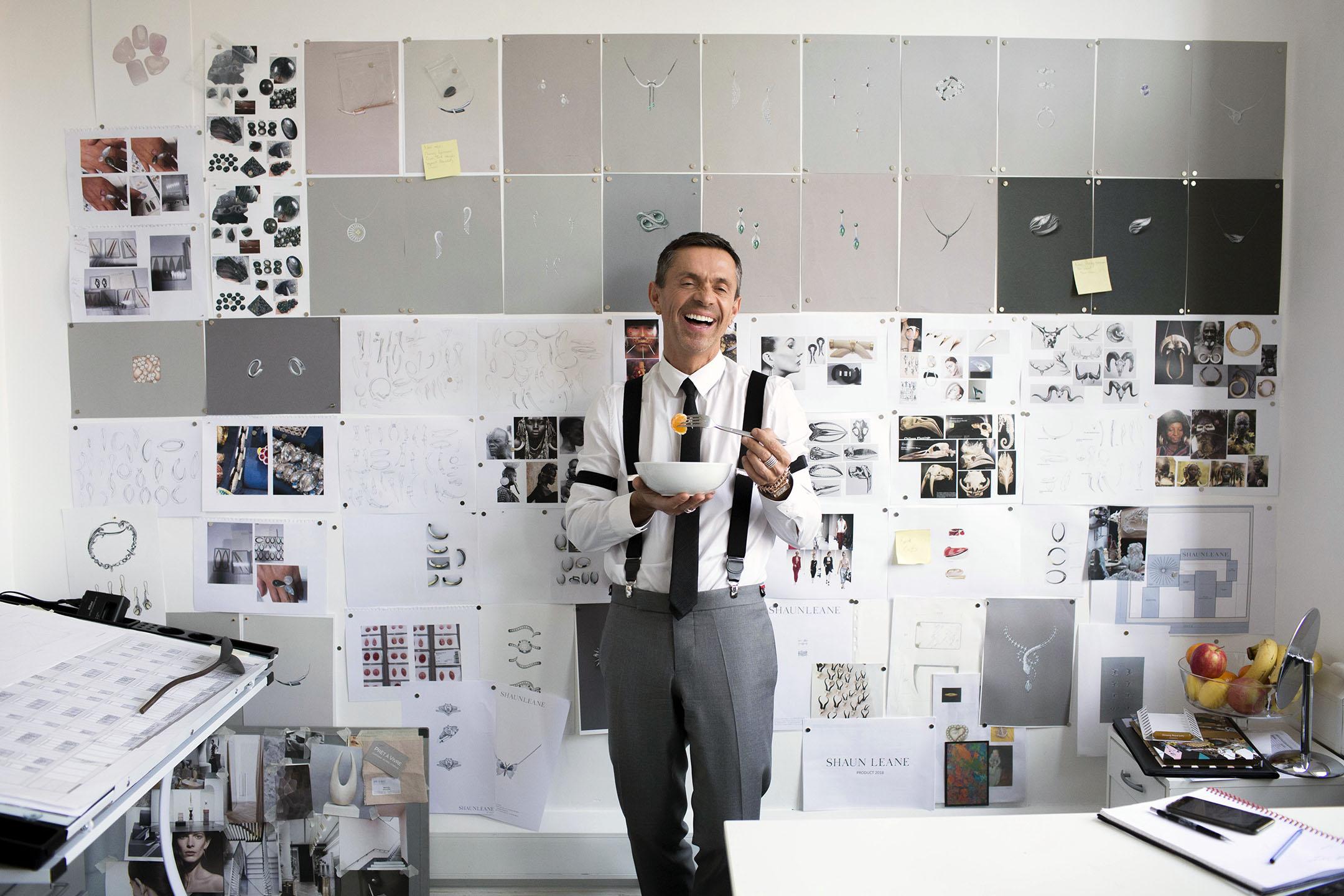 Designer Shaun Leane for The New York Times