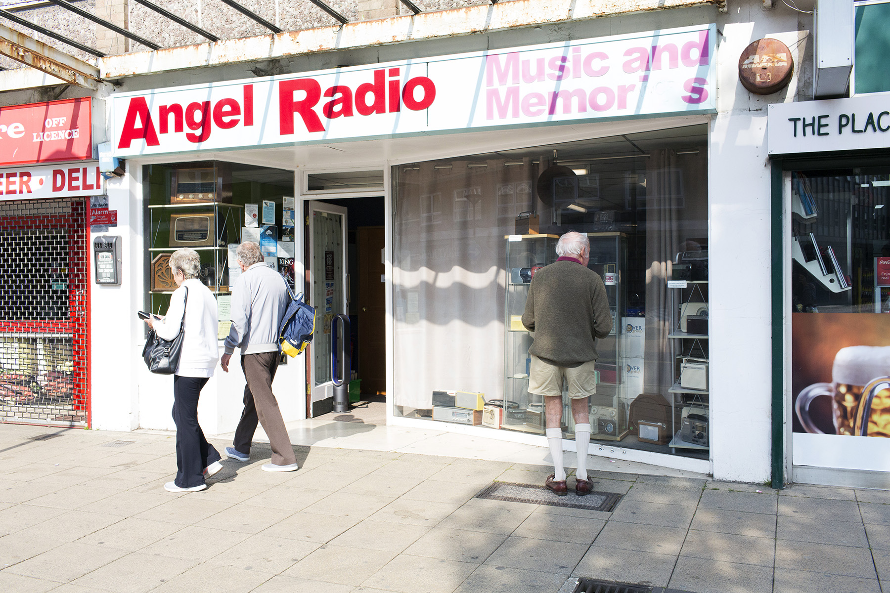 Angel Radio studios in Havant, England