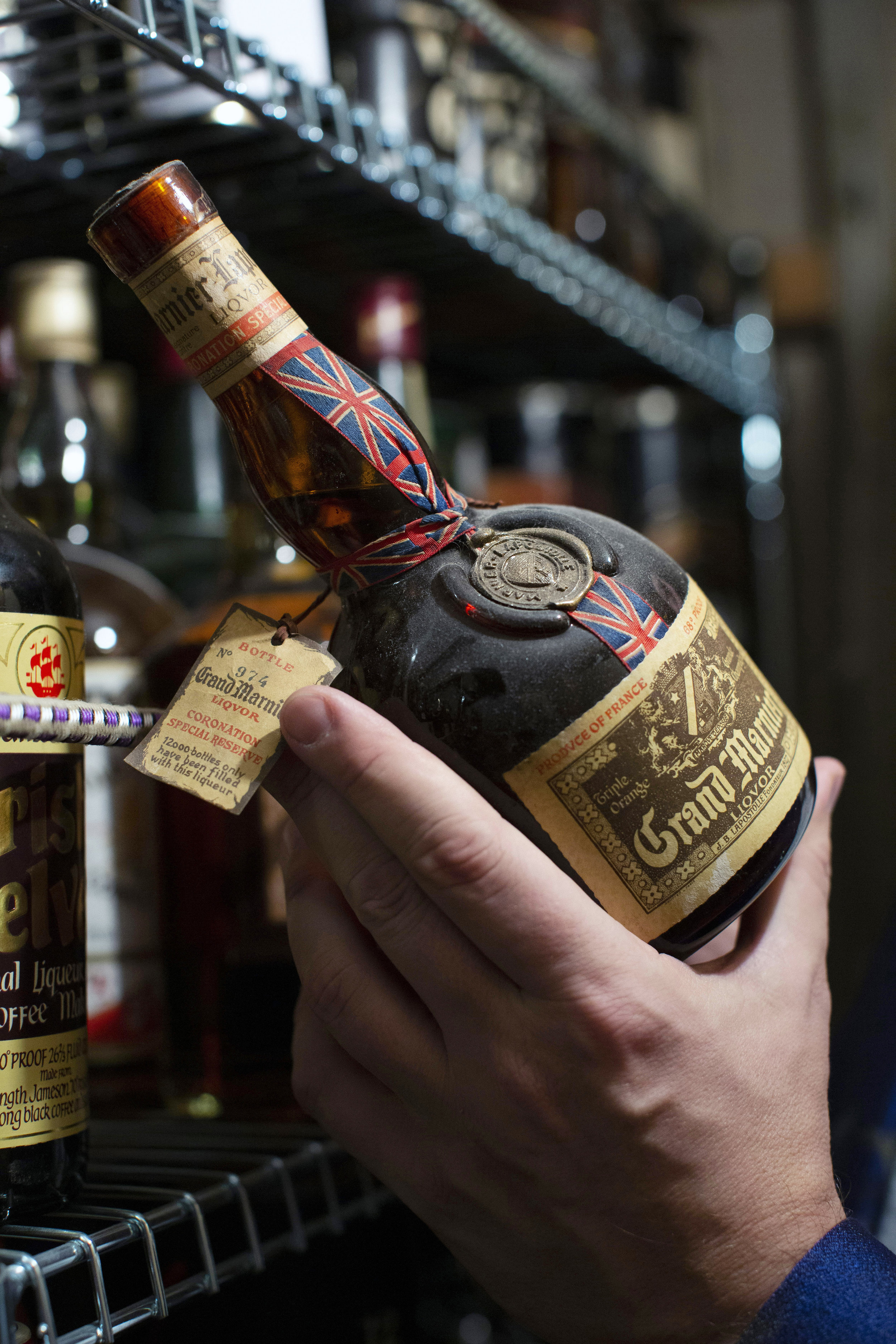A 30-year-old Grand Marnier from the coronation of Elizabeth II.