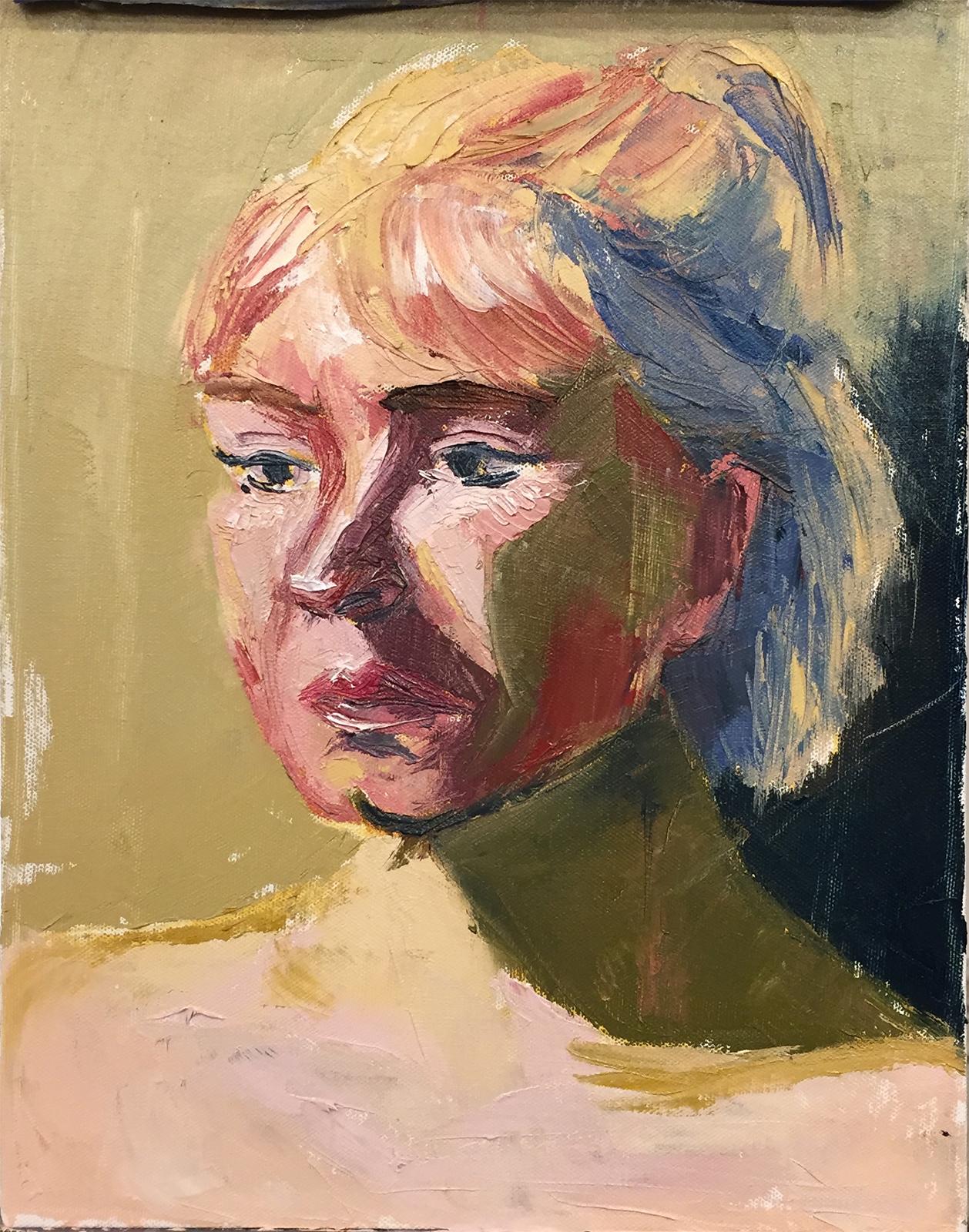 Yelena  oil on canvas  11x14