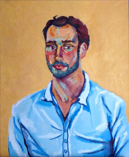 Paul  oil on canvas  24x30