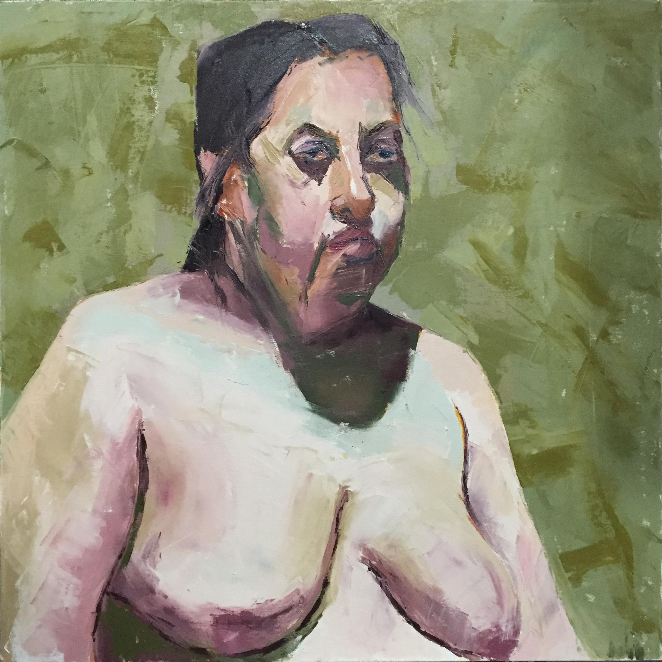 Betty  oil on canvas  24x24