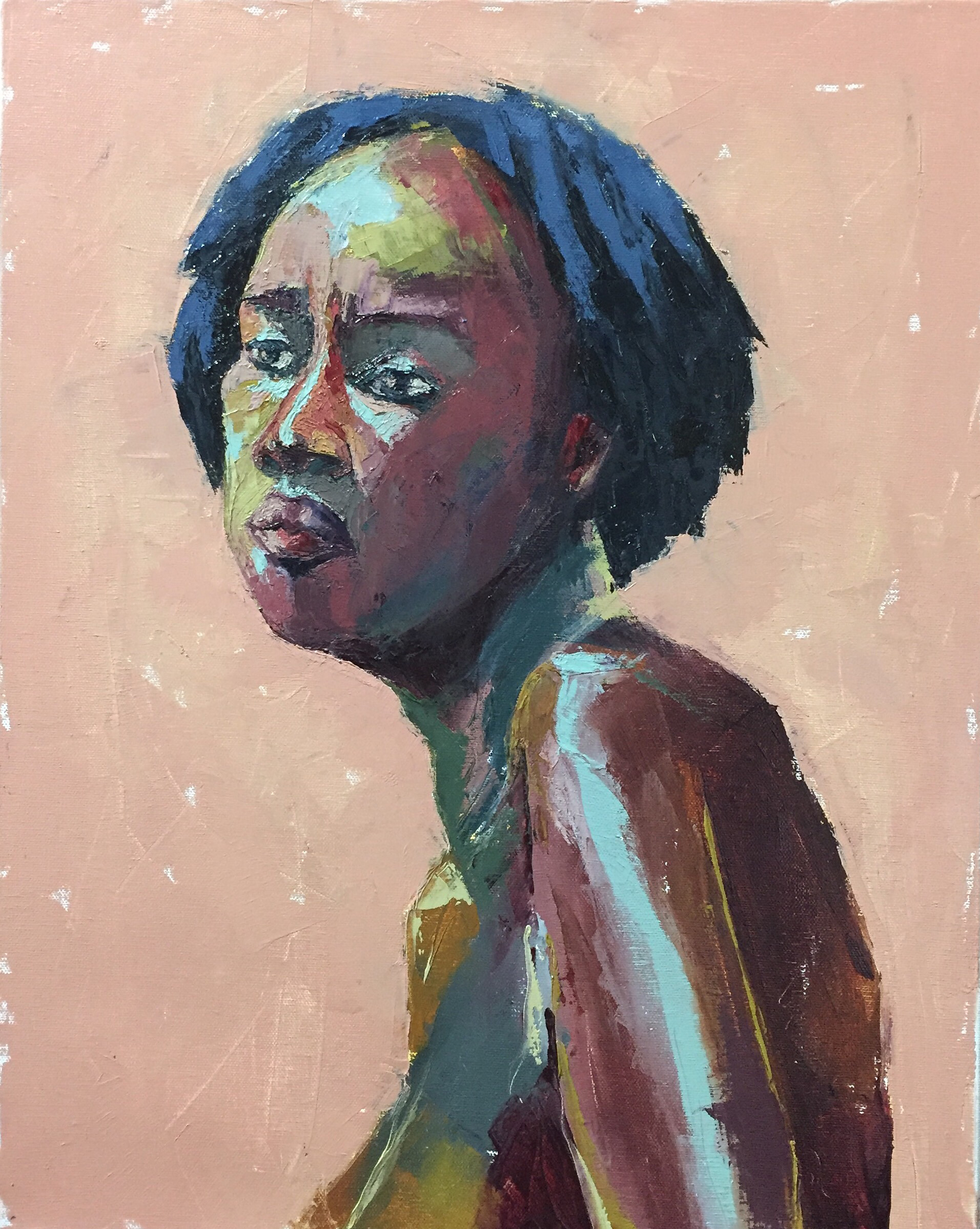 Connie  oil on canvas  16x20