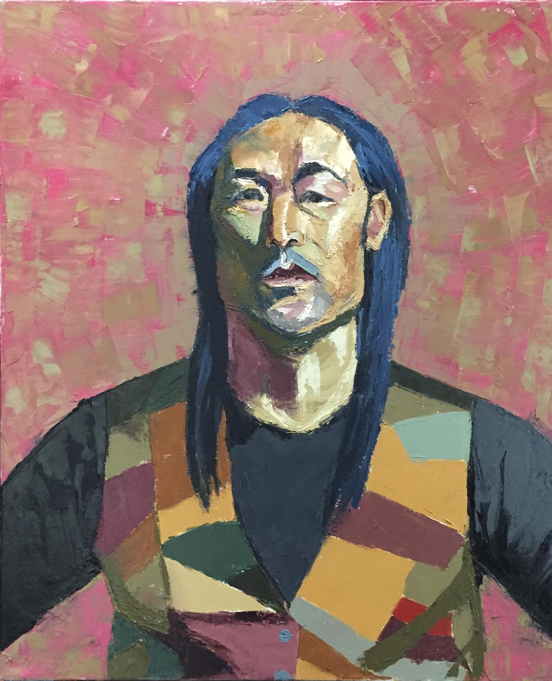 Tsering  oil on canvas  22x28