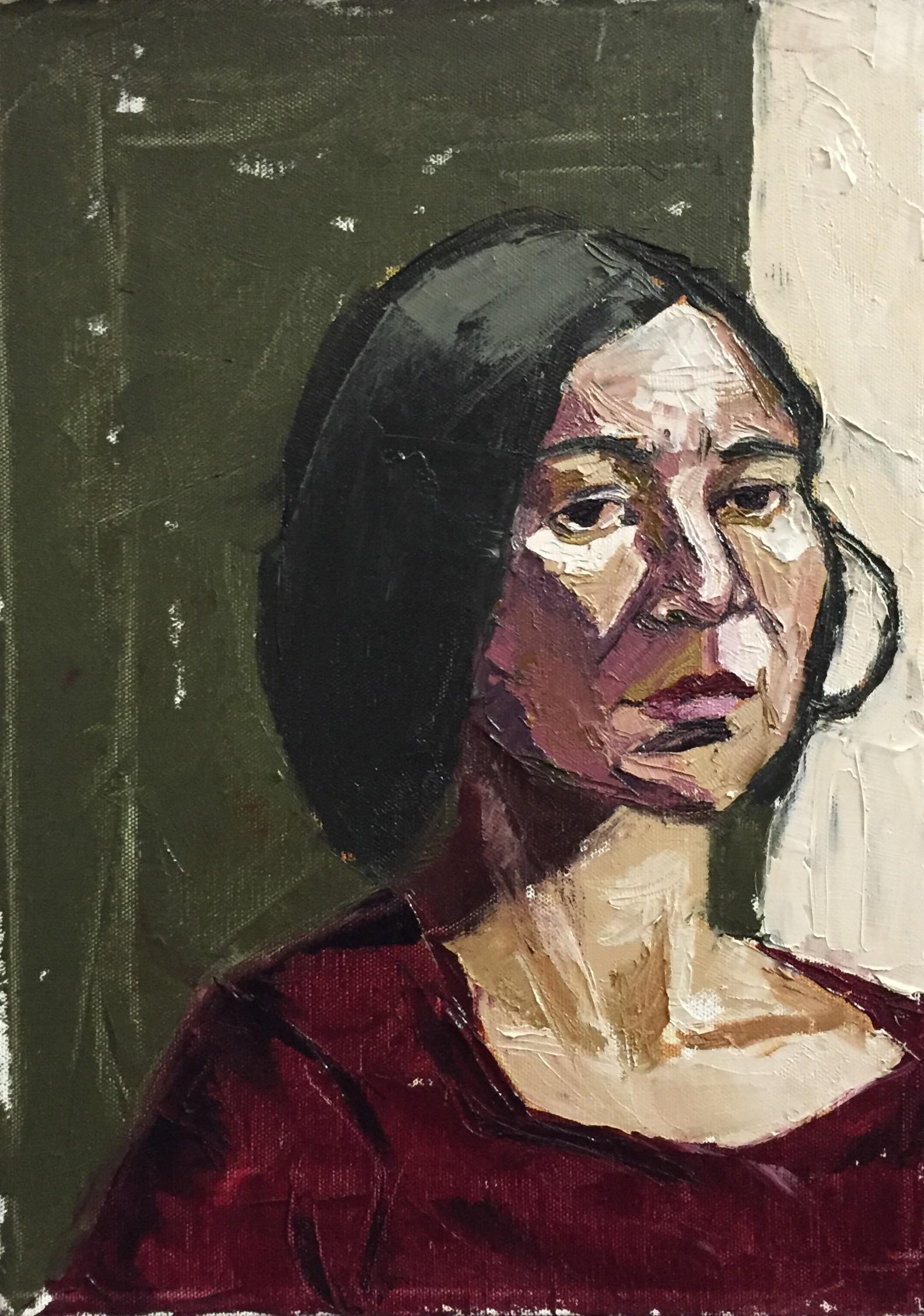 Maria  oil on canvas  10x14