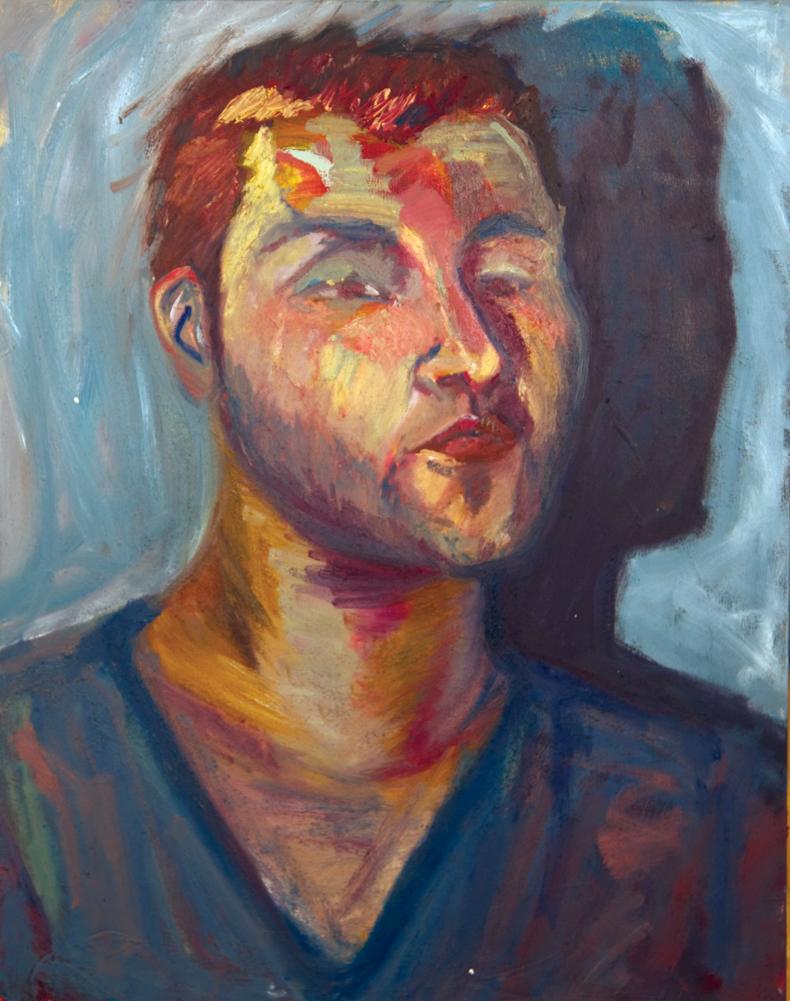 Alejandro  oil on canvas  20x30