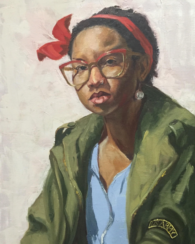 Sasha  oil on canvas  18x24