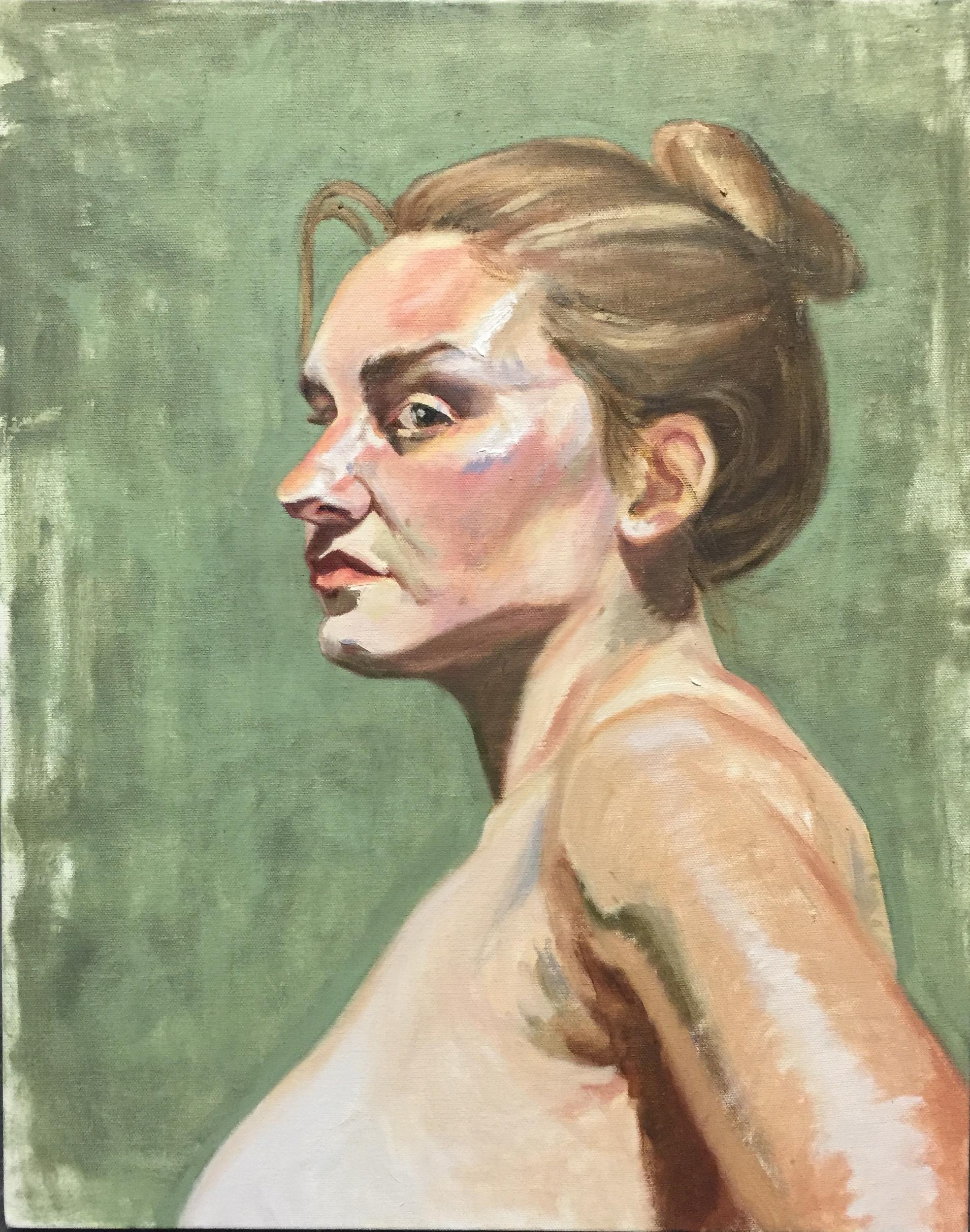 Daisy  oil on canvas  16x20