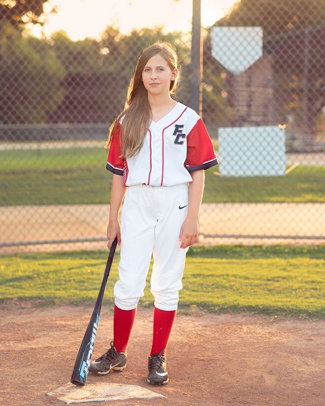 Getting this chick ready to head to Illinois to play in the #baseballforall Nationals. She's excited to be a part of the #DCForce 11u team.