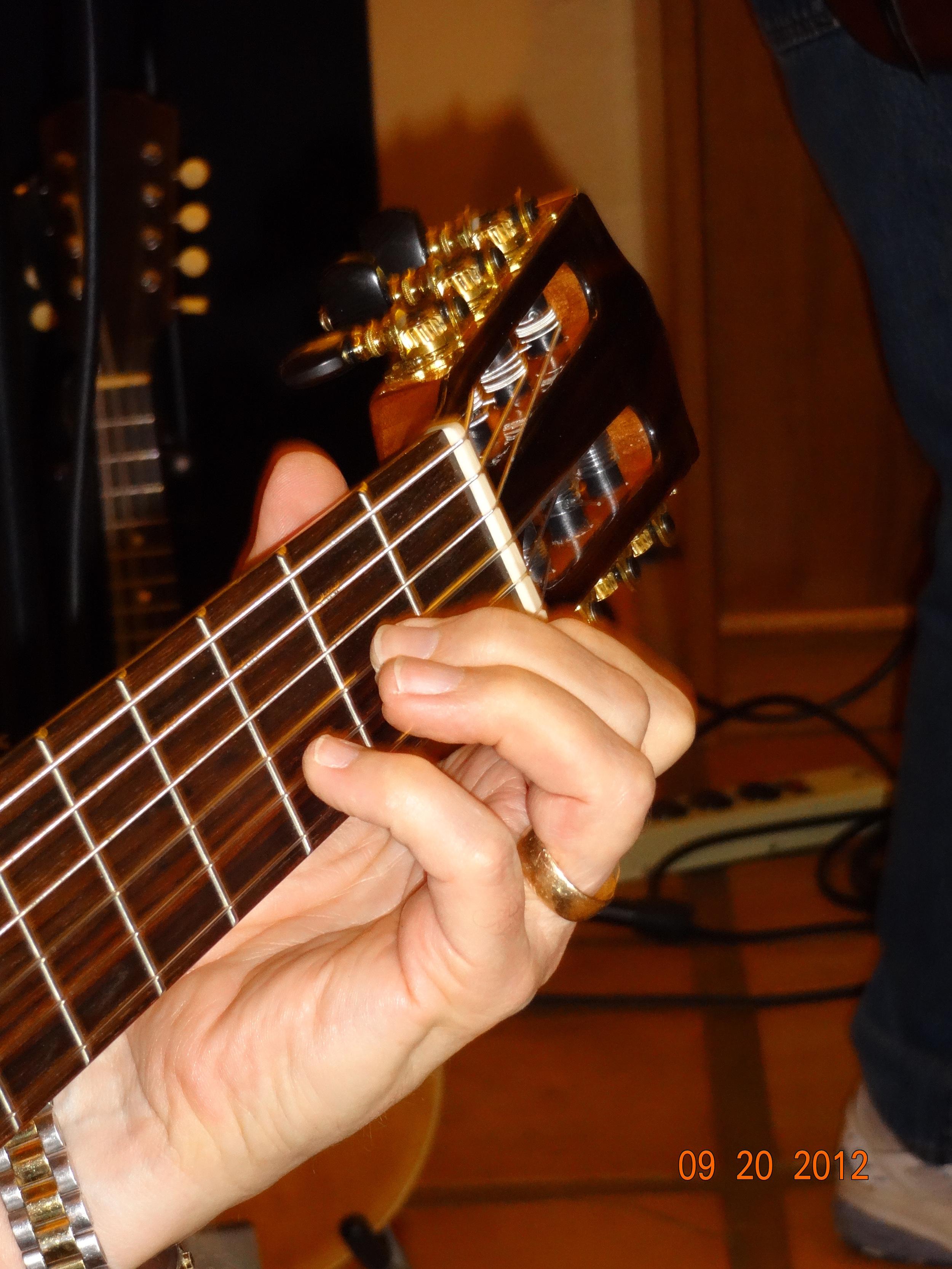 Tom Dukes plays a Cordoba GK Studio Guitar