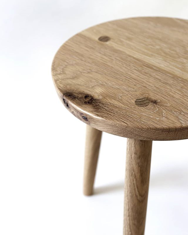 About as simple as it gets - a ten degree bevel cuts through to reveal the character of this Steady stool.