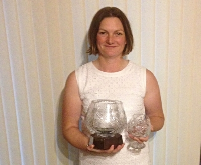 Sherrie Edwards 2016 Club Champion