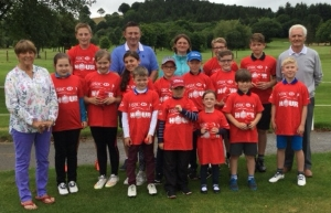 Junior members played a 9 hole competition on Presidents Day. Competitors with the Presidents and Club Captains.