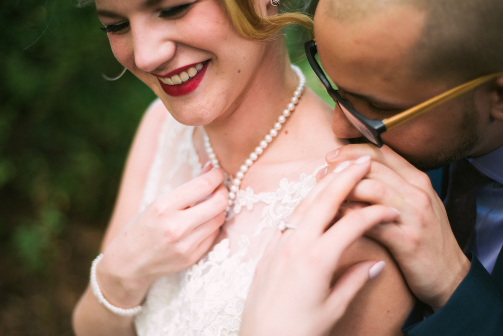 Bride Katie Vintage Glam Bridal Makeup by Becca Bussert Photography by Mark Tioxin.jpg