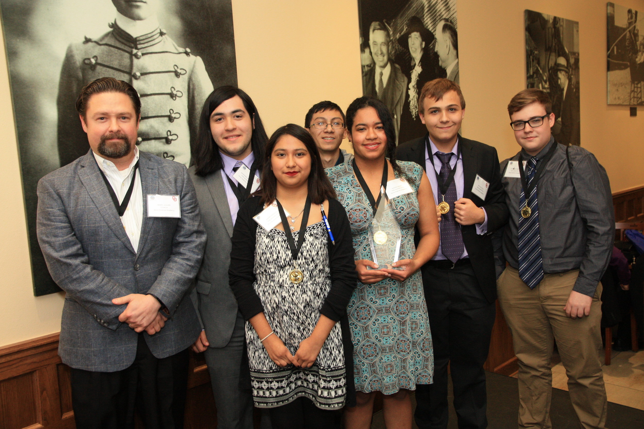 2017 1st Annual Oklahoma Region High School Ethics Bowl Winner Dove Science Academy - team Scientists