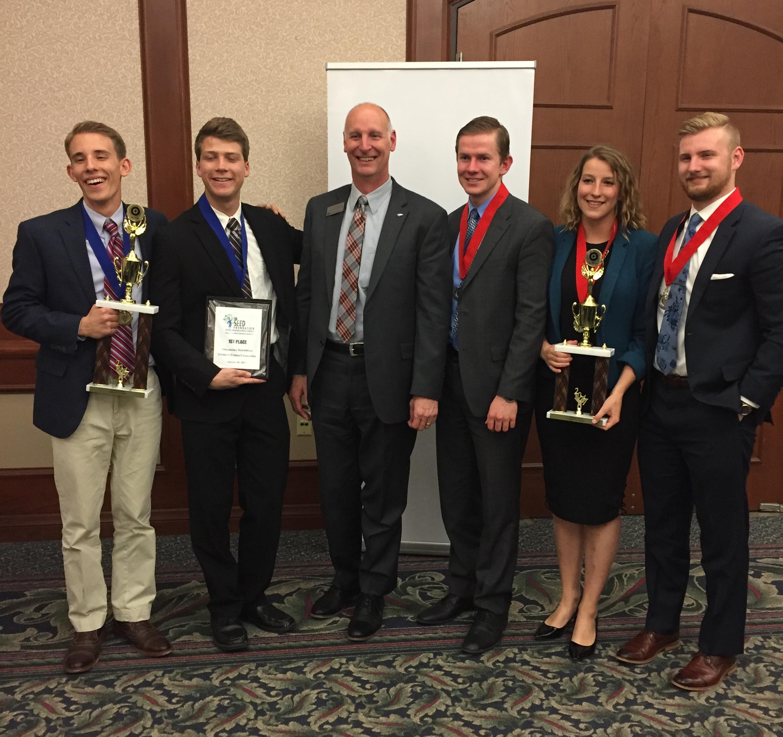 National Intercollegiate Ethics Bowl 2018 Bob Ladenson Spirit Award Oklahoma Christian University
