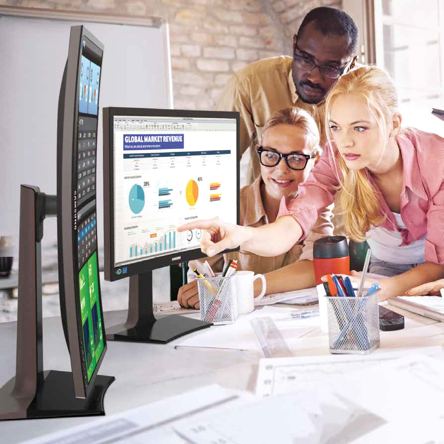 Samsung Business Monitors -