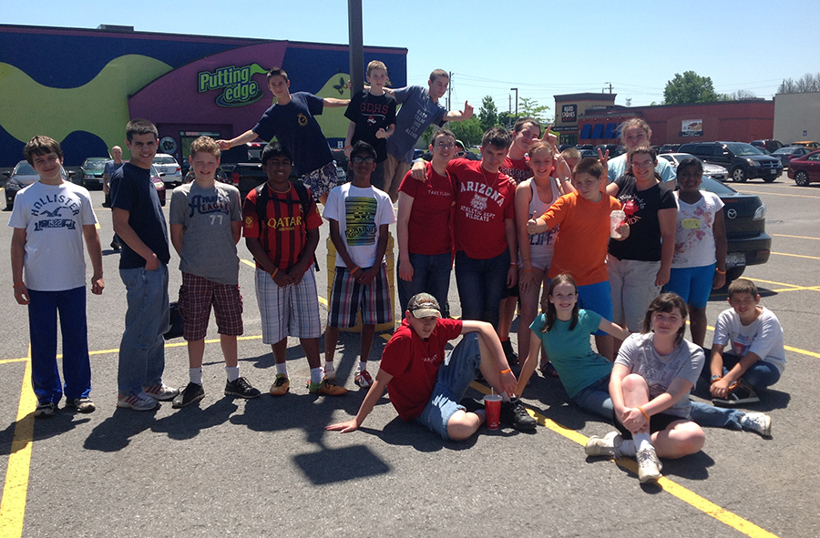 June 2014: Year End Trip to Skyzone and Putting Edge in Ottawa.