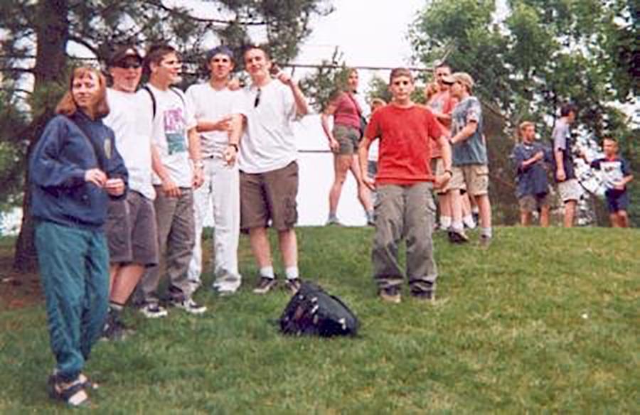 2001: Year End Trip to Canada Wonderland.