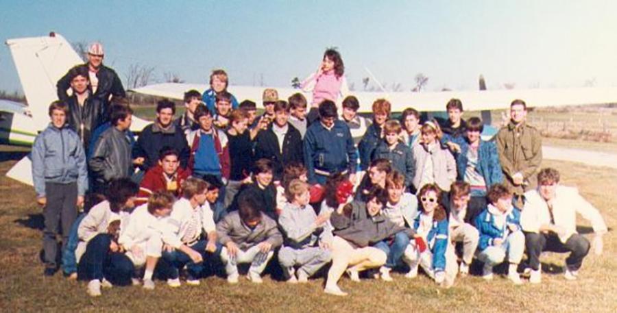 1986: Famil Flight.