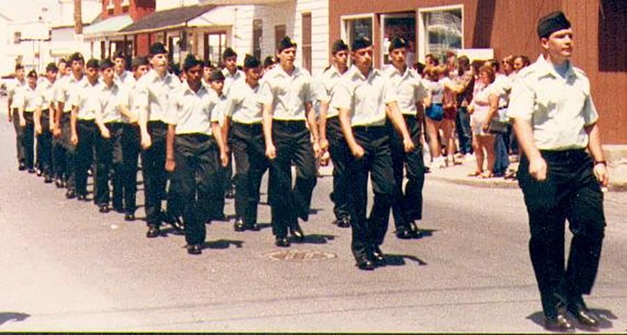1 July 1985: Canada Day Parade.