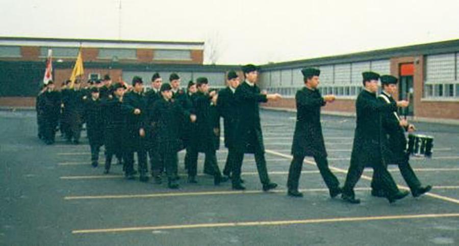 11 November 1987: Remembrance Day Parade.