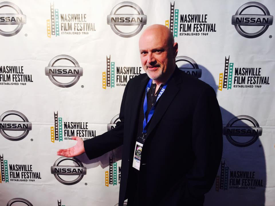 Producer/Director David Jeffery on the red carpet