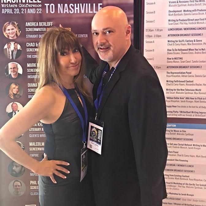 Producer/Director David Jeffrey and fiancée Bella Shaw