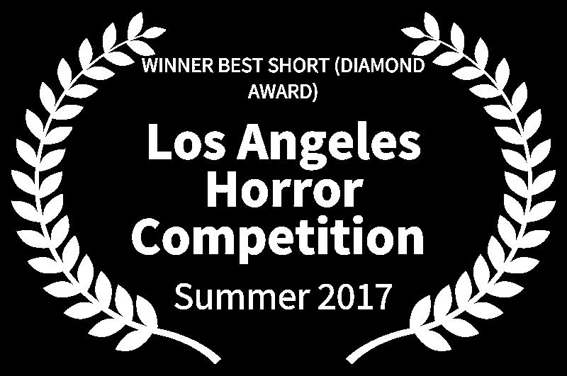 WINNER BEST SHORT DIAMOND AWARD - Los Angeles Horror Competition  - Summer 2017.png