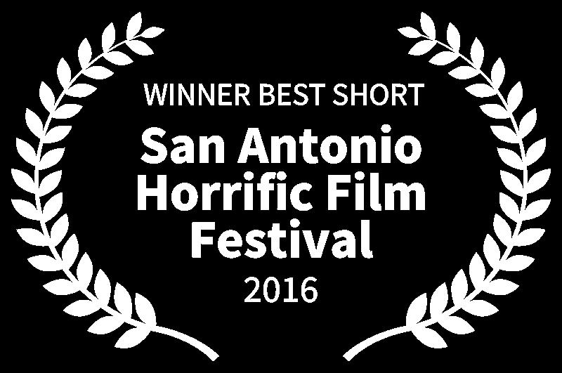 WINNER BEST SHORT - San Antonio Horrific Film Festival - 2016.png
