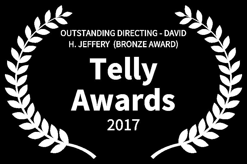 OUTSTANDING DIRECTING - DAVID H. JEFFERY  BRONZE AWARD - Telly Awards - 2017.png