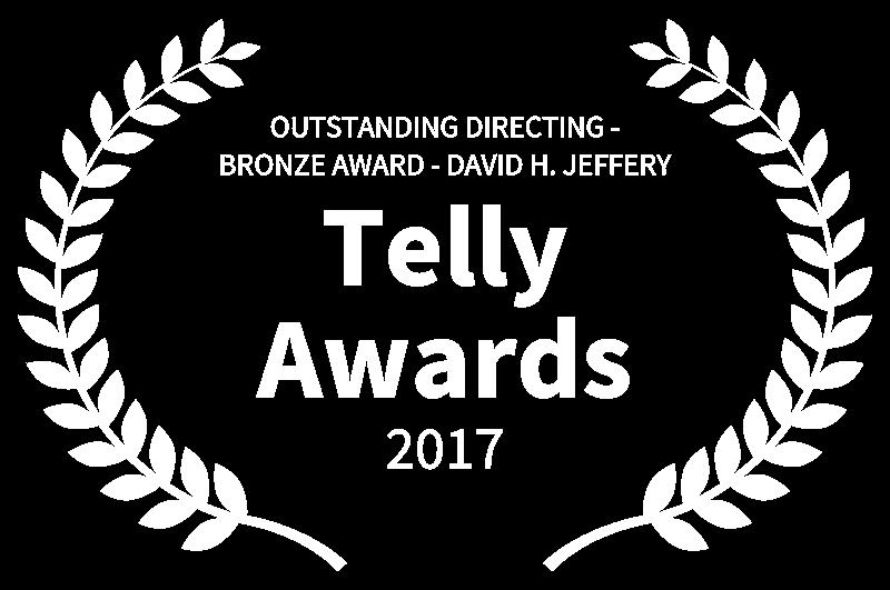 OUTSTANDING DIRECTING - BRONZE AWARD - DAVID H. JEFFERY - Telly Awards - 2017.png