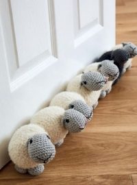 Sheep Draught Excluder Pattern by Liz Ward