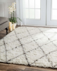 Covering your hard floor with a cozy rug can help keep your home insulated in the winter/