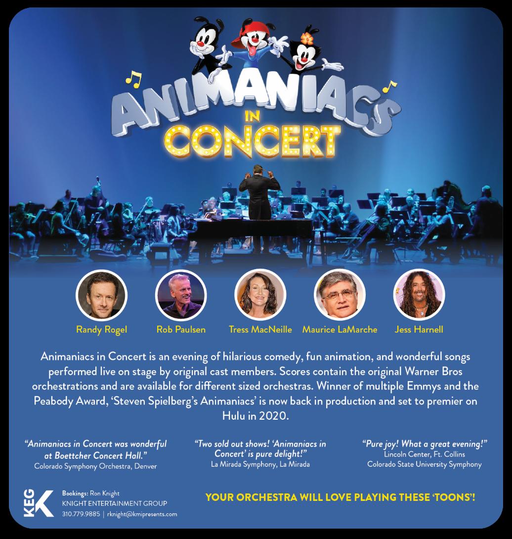 Animaniacs in Concert — Samuel Houser