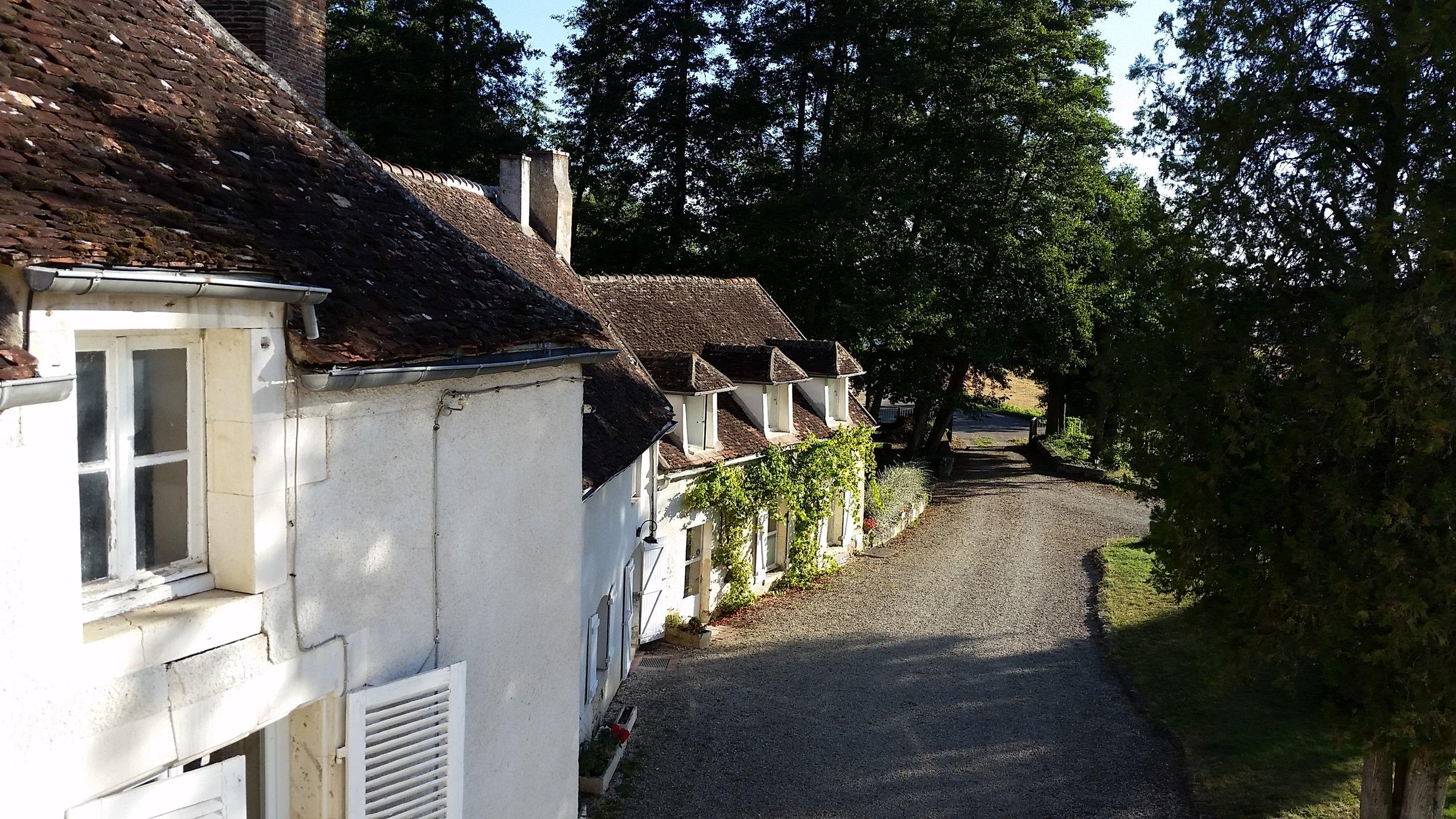 Copy of La Barbotière - vue de l'entrée