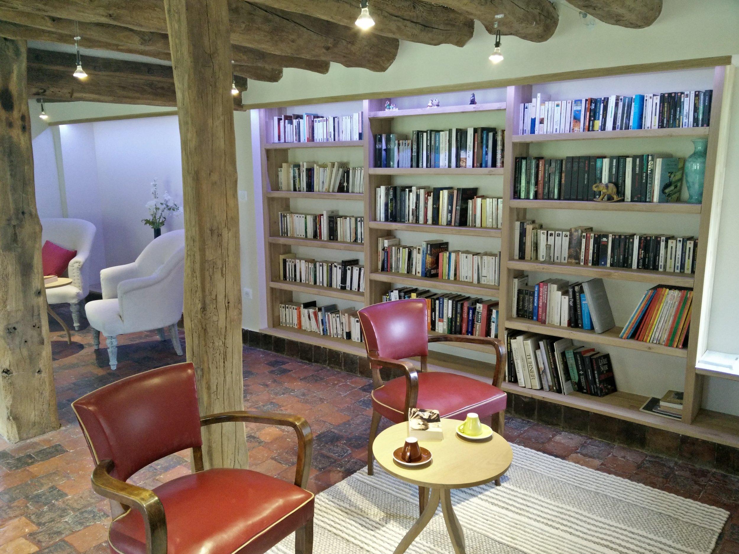 Copy of La Barbotière - Bibliothèque
