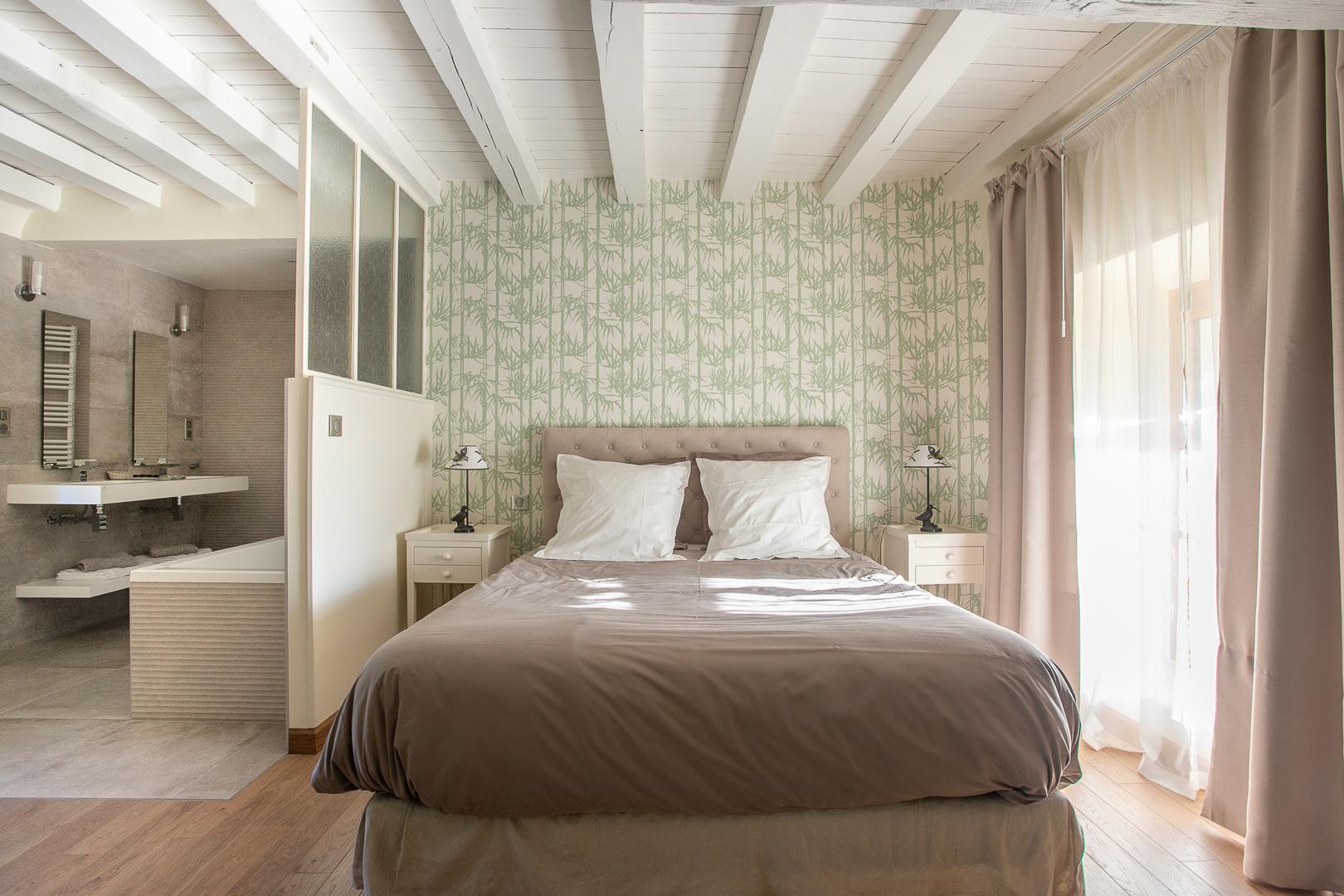 Chambre Coulanges, le lit