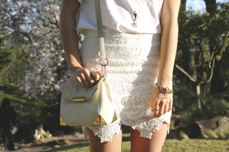 alexander wang marion purse mushroom rose gold white